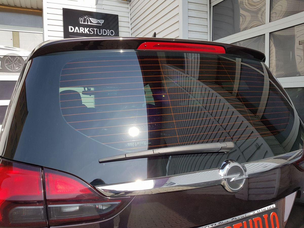 Inteligentny Opel Zafira   Realizacje   Przyciemnianie Szyb Gliwice :: Czarne Szyby LL23