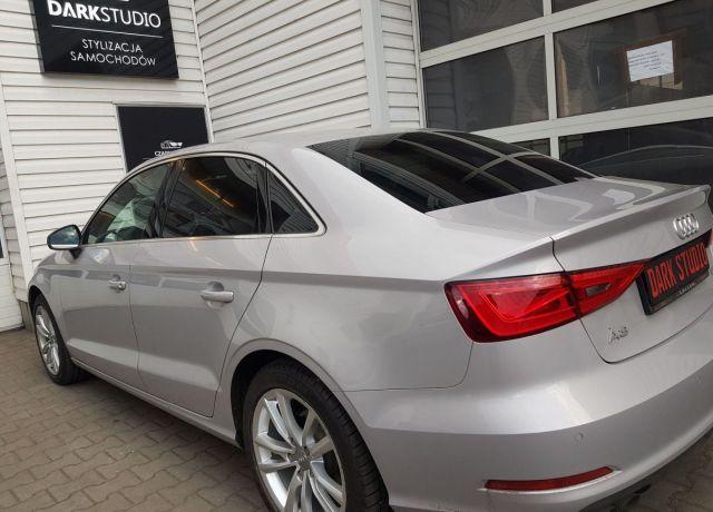 Bezinwazyjne przyciemnianie szyb Audi A3 Limuzyna
