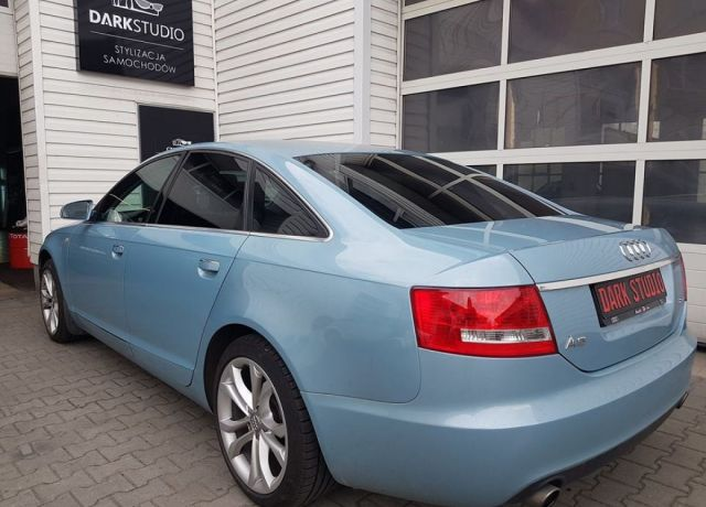 Bezinwazyjne przyciemnianie szyb Audi A6 C6