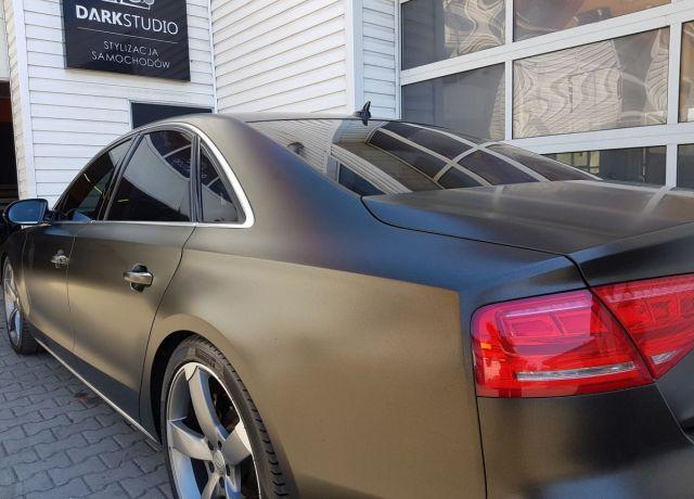 Bezinwazyjne przyciemnianie szyb Audi A8 D4