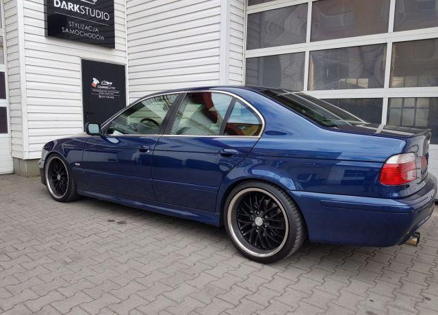 Bezinwazyjne przyciemnianie szyb BMW E39