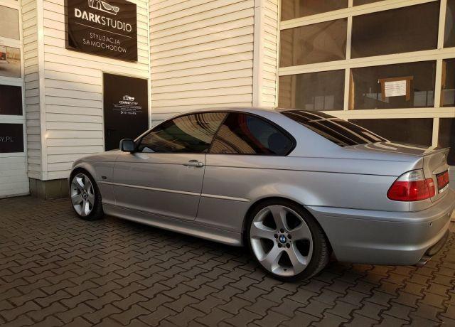 Bezinwazyjne przyciemnianie szyb BMW E46 Coupe
