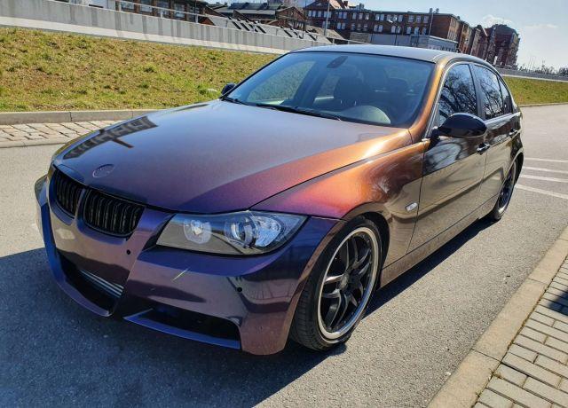 Zmiana koloru nadwozia samochodu BMW E90 Kolor