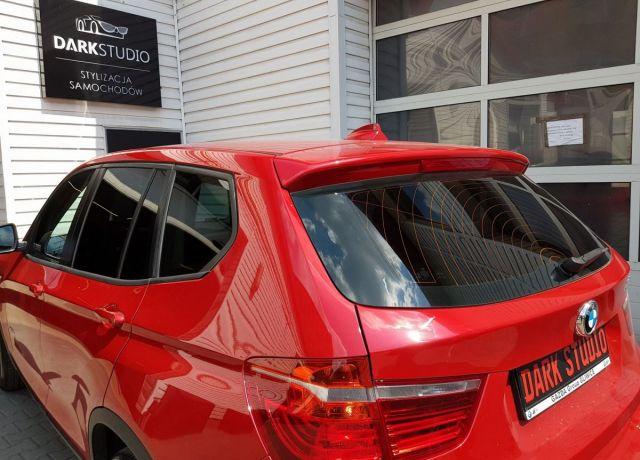 Bezinwazyjne przyciemnianie szyb BMW X3