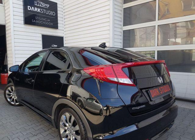 Bezinwazyjne przyciemnianie szyb Honda Civic