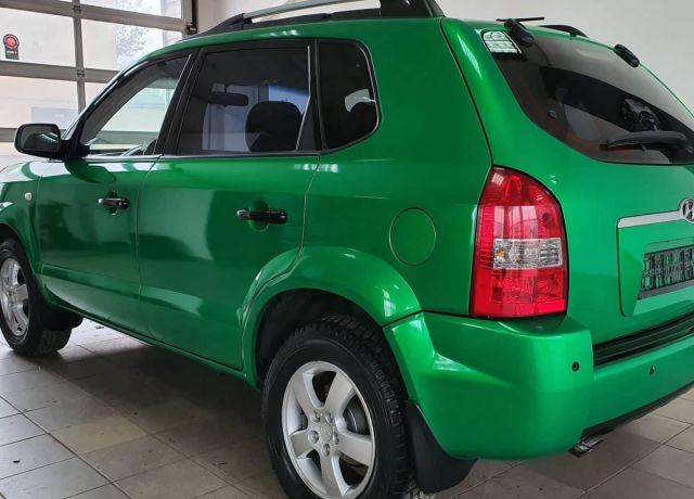 Zmiana koloru nadwozia samochodu Hyundai Tucson