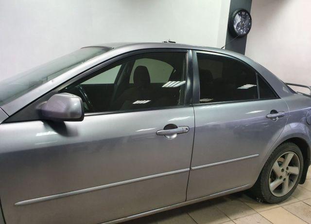 Bezinwazyjne przyciemnianie szyb Mazda 6 Ciemne Szyby