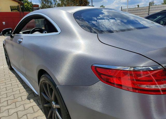 Zmiana koloru nadwozia samochodu Mercedes 5 Coupe AMG