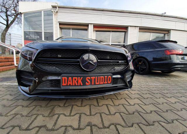 Stylizacja elementów nadwozia lub wnętrza Mercedes AMG A35
