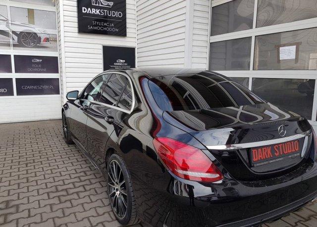 Bezinwazyjne przyciemnianie szyb Mercedes C Klasa
