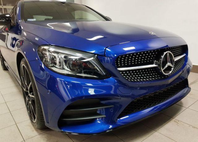 Aplikacja powłok ceramicznych Mercedes C Coupe
