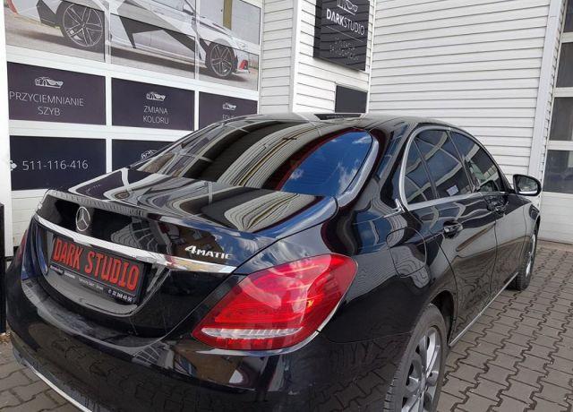 Bezinwazyjne przyciemnianie szyb Mercedes C