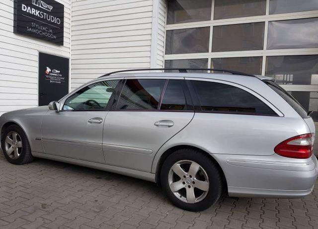 Bezinwazyjne przyciemnianie szyb Mercedes E klasa W211