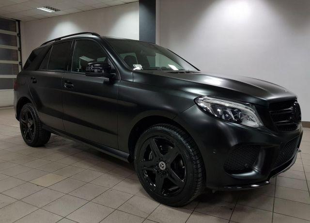 Zmiana koloru nadwozia samochodu Mercedes GLE