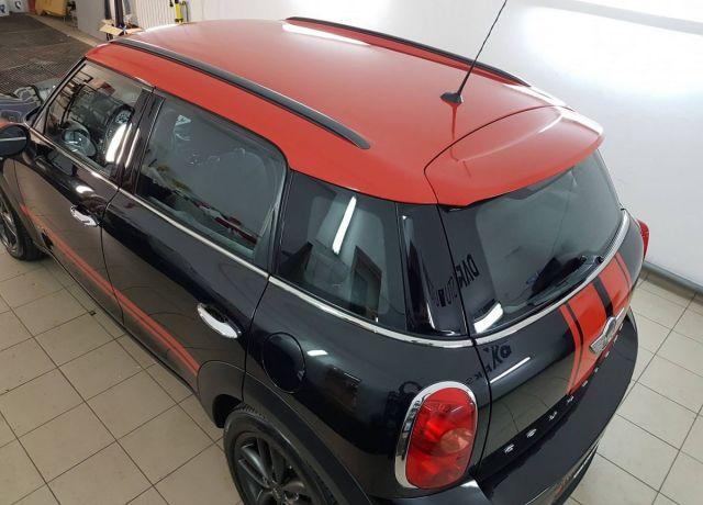 Zmiana koloru nadwozia samochodu Mini Cooper S