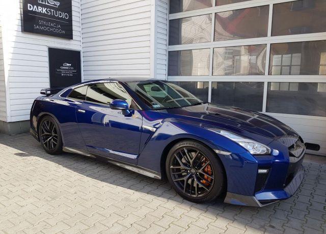 Bezinwazyjne przyciemnianie szyb Nissan GT-R