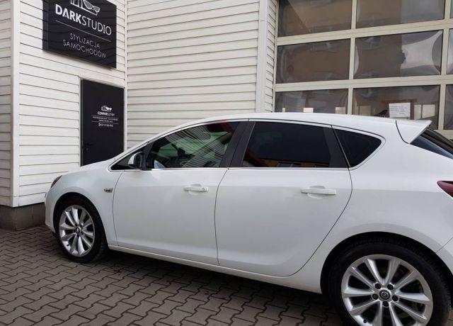 Bezinwazyjne przyciemnianie szyb Opel Astra IV