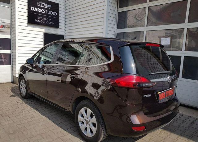 Bezinwazyjne przyciemnianie szyb Opel Zafira
