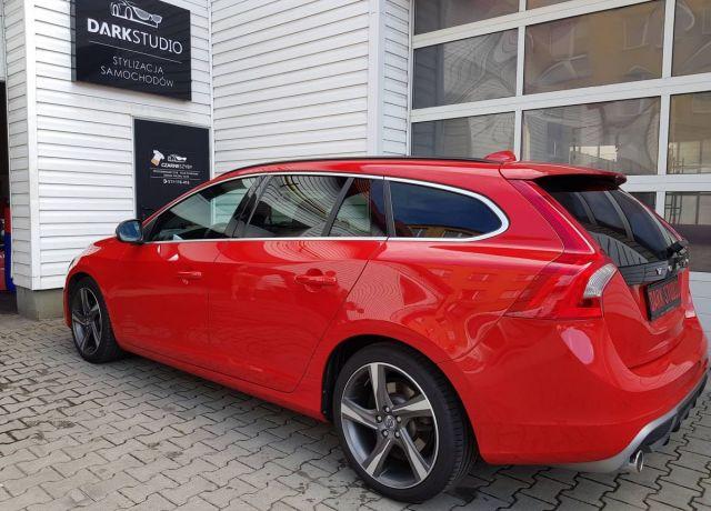 Bezinwazyjne przyciemnianie szyb Volvo V60