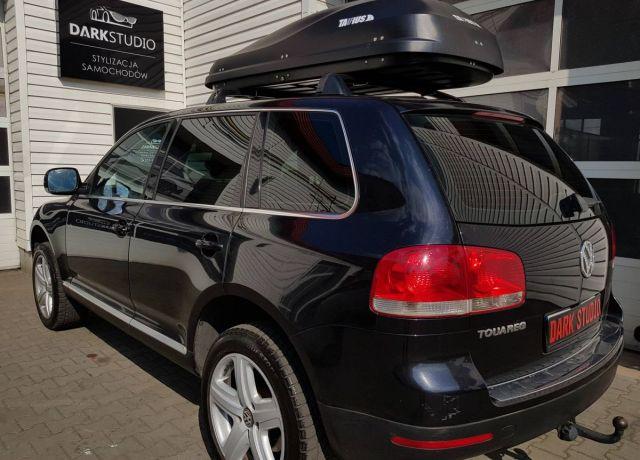 Bezinwazyjne przyciemnianie szyb VW Touareg